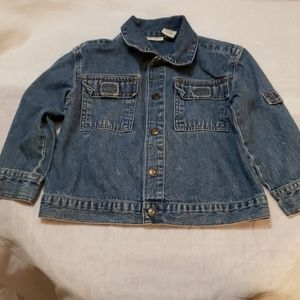 blue Jean jacket for girls size 3T